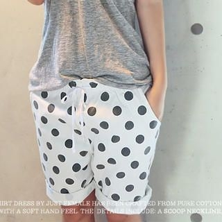 NANING9 - Polka Dot Shorts