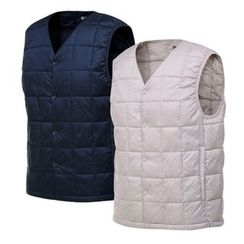 Seoul Homme - Padded Quilted Vest