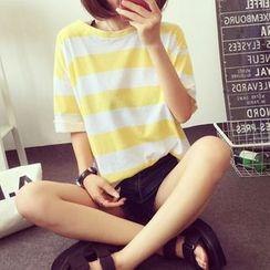 Sienne - Stripe Short-Sleeve T-shirt