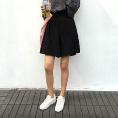 气质淑女 - 高腰裙裤