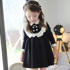 Cuckoo - Kids Peter Pan Collar Dress