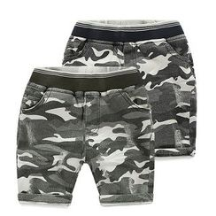 WellKids - Kids Camouflage Shorts