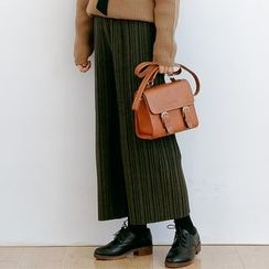 Forest Girl - Pleated Wide Leg Pants