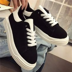 Hipsole - Faux-Suede Sneakers