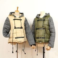 tete - Color-Block Padded Jacket