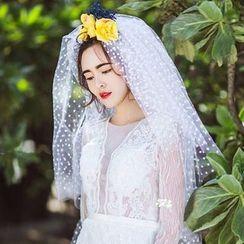 Neostar - Dotted Wedding Veil