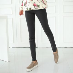 CLICK - Fleece-Lined Skinny Pants