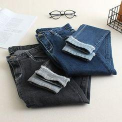 三木社 - 九分修身牛仔裤