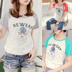 CatWorld - Short-Sleeve Printed T-Shirt
