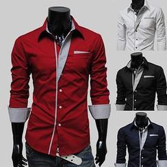 Maldini - 撞色衬衫