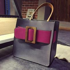 BAGuette - 撞色手提包
