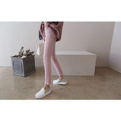 DAILY LOOK - Corduroy Skinny Pants