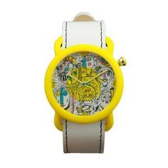 Moment Watches - BE HAPPY Time to laugh! Strap Watch