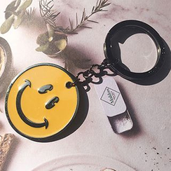 Cute Essentials - Smiley Face Keyring