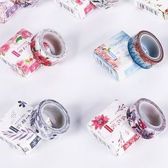 Homey House - Floral Print Masking Tape