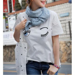 MATO - Eye Print T-Shirt