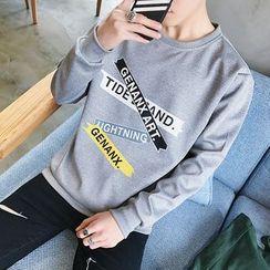 Bloemen - Printed Sweatshirt