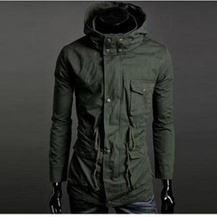 Evolu Fashion - Hooded Jacket