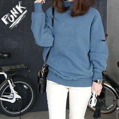 11.STREET - Mock neck Sweatshirt