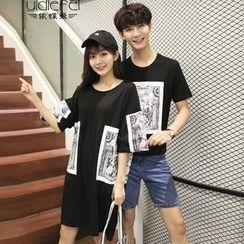 尚雅姿 - 情侶印花T裇 / T裇連衣裙