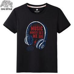 CHU STYLE - Print Short-Sleeve T-shirt