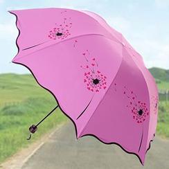 SunShine - Dandelion Print Compact Umbrella