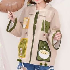 Moriville - Applique Jacket