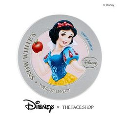 The Face Shop - Disney Princess Snow WhiteTone Up Cushion (#03 Pink) 15g