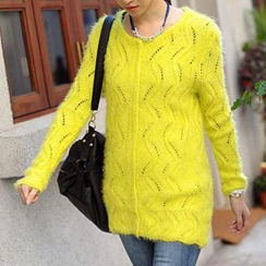 59 Seconds - Furry Knit Tunic