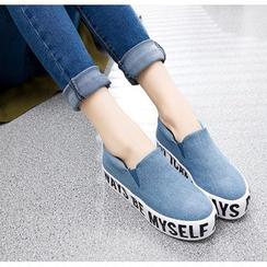 Sunsteps - 字母厚底轻便鞋
