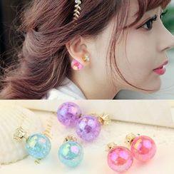 HEDGY - Crystal Through & Through Earrings