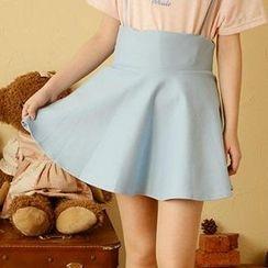 Moriville - Suspender Skirt