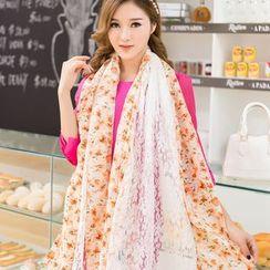 Agisnow - 碎花圍巾