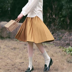 11.STREET - Accordion Pleated Skirt