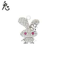 Glamagem - 12 Zodiac Collection - Auspicious Rabbit Pendant
