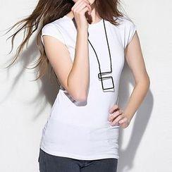 Ranee - Cap-Sleeve T-Shirt