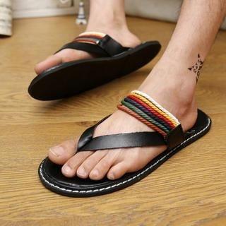 Noyo.Carr - Strappy Flip-Flops