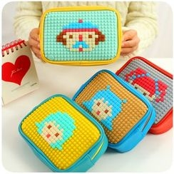 Fancy Mansion - Pixel Art Silicone Pouch