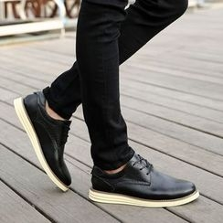 MR.GONG - Genuine Leather Oxfords