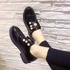 QQ Trend - 仿珍珠布洛克牛津鞋