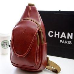 Auree - Faux-Leather Sling Bag