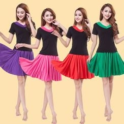 Dancing Queen - Dance Set: Short Sleeve Top + Skirt
