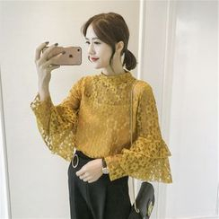Sienne - Lace Tiered Blouse