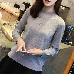 Violette - Mock Neck Sweater