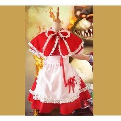 Maisie - League of Leagends Red Riding Annie Cosplay Costume