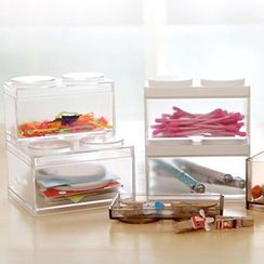 Show Home - Transparent Building Block Organizer