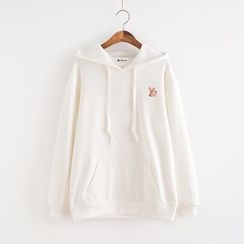 Lemon Town - Embroidered Hoodie