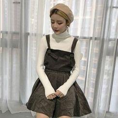 QZ Lady - Corduroy Jumper Dress