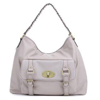 MBaoBao - Belted Braided-Strap Shoulder Bag