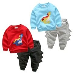 WellKids - Kids Set: Printed Pullover + Sweatpants
